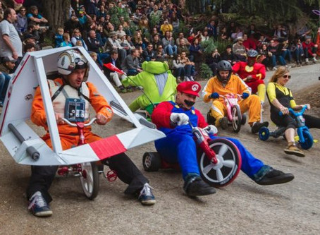 "2018 ""Bring Your Own Big Wheel"" Race 