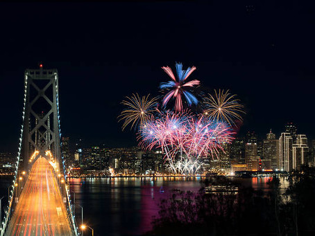 Where to watch Fourth of July fireworks in San Francisco