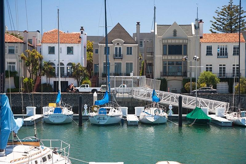 Beautiful Waterfront Marina Homes