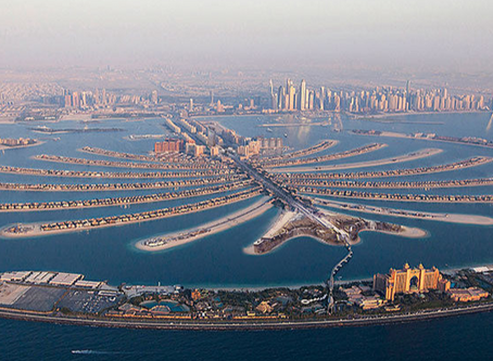 Dubai's Palm Jumeirah Ready for Showtime