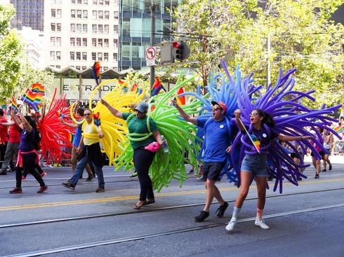 Visit SF Pride Festival