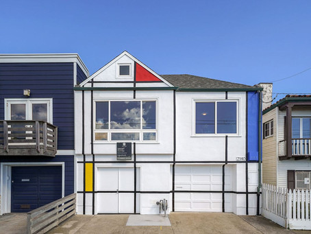 San Francisco Home Painted to Look Like Famous Artwork Sells for Half-Million Over Asking