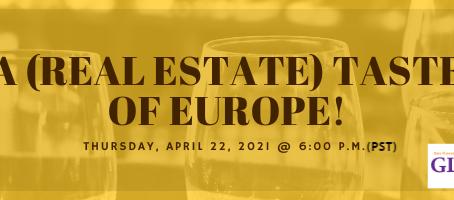 "Joske Thompson Moderates ""A (Real Estate) Taste of Europe"