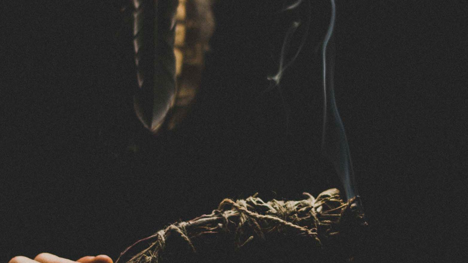 Smudge burning