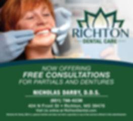 Richton Dental Care Ad | Red Door Marketing