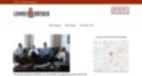 Lowrey & Fortner Website  Red Door Marketing