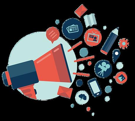 Public Relations Megaphone | Red Door Marketing