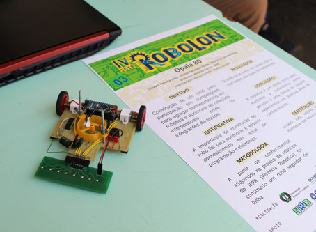 Mostra cientifica incentiva o ingresso de alunos nas áreas de tecnologia