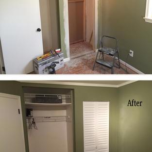 Additional storage closet