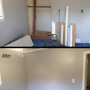 Convert closet to wall