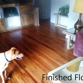 Finished hardwood floors 1