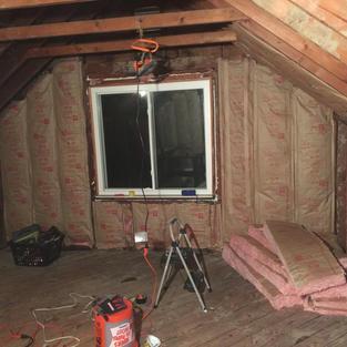 Attic 2 insulation