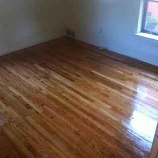 Finished hardwood floors 2