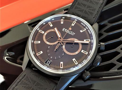 ZENITH推出Chronomaster El Primero Range Rover Velar特別版腕錶