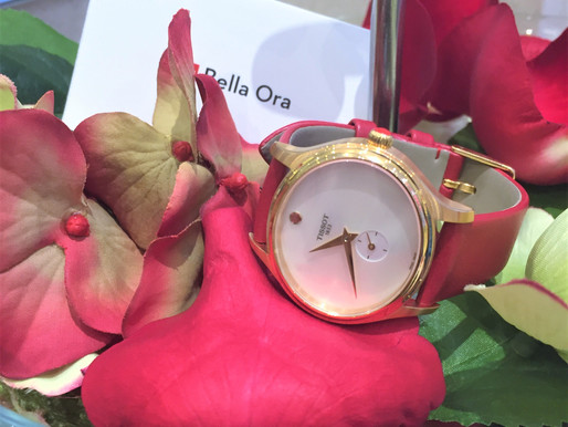 TISSOT情人節對錶 洋溢浪漫心意