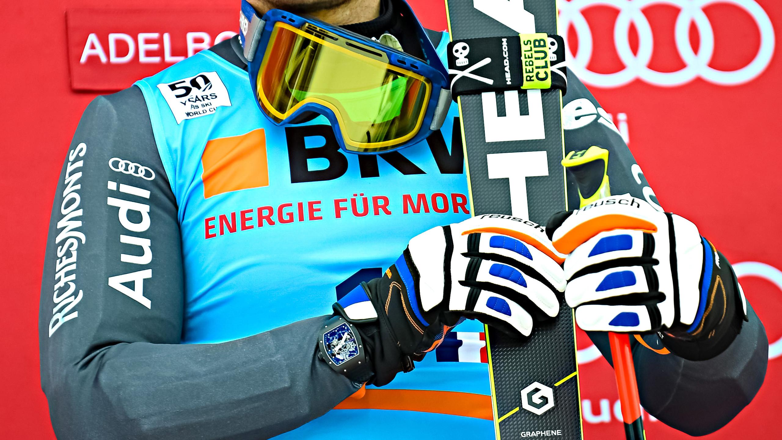 RICHARD MILLE的合作夥伴Alexis Pinturault剛於1月初的瑞Adelboden大回轉比賽中奪得第19次滑雪世界盃個人賽勝利。