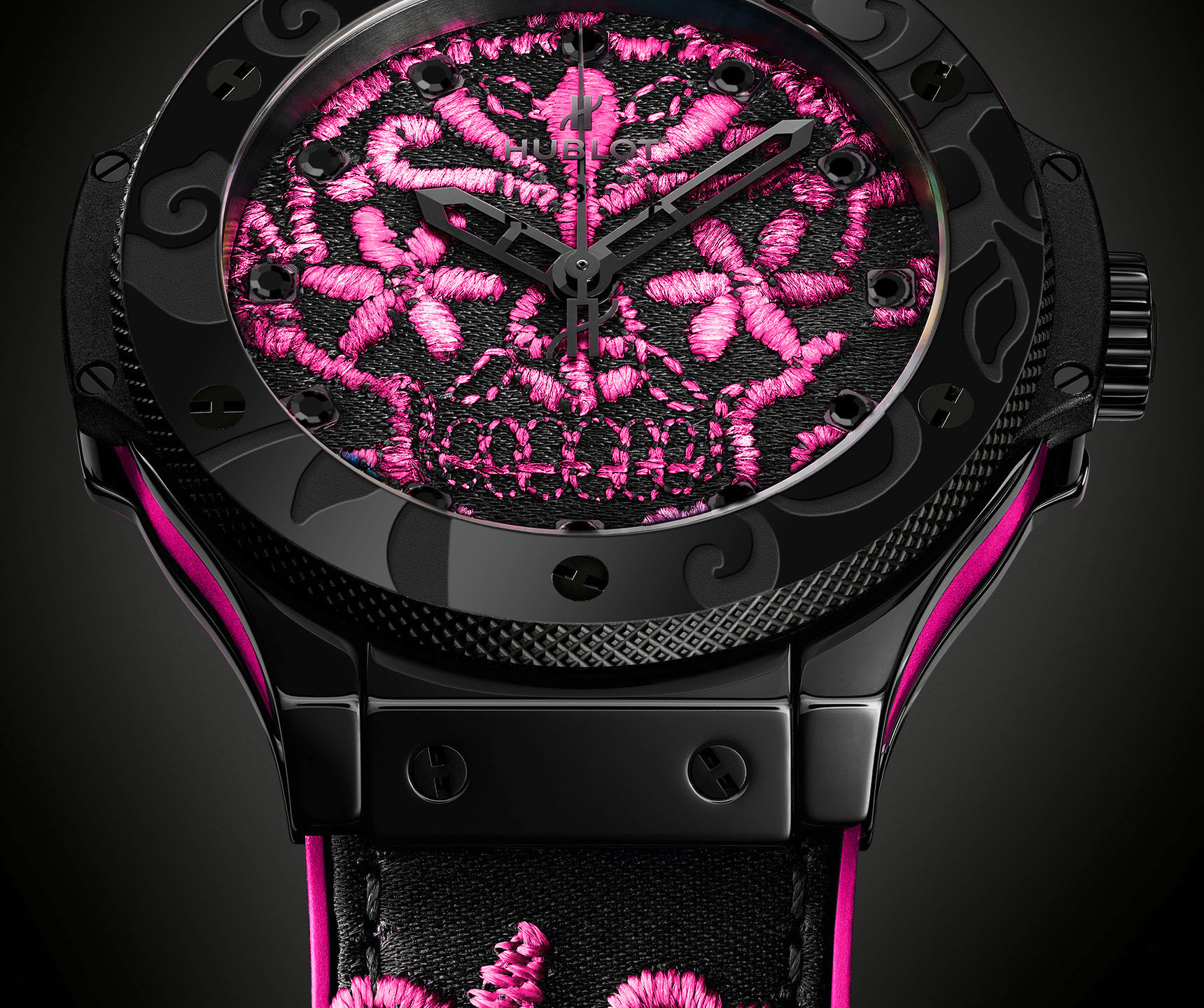Big Bang Sugar Skull Hot Pink