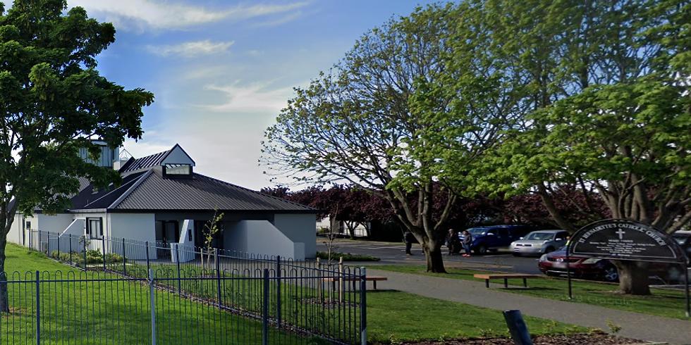 6 pm Vigil Mass, Saturday 6 Mar @ Hornby