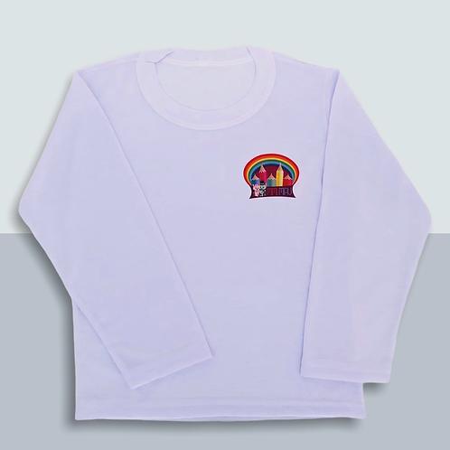 Camiseta Infantil Manga Longa - Tamanho 2