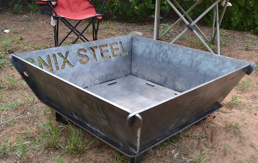 Custom Steel FirePit