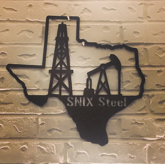 Personalized Texas Oil