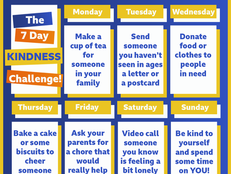 It's Mental Health Awareness Week and the theme is kindness