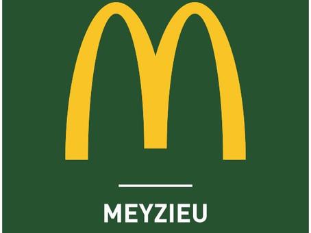 McDonald's Meyzieu, nouveau partenaire des Cards.
