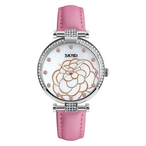 Skmei - Reloj 9145PK Análogo para Mujer