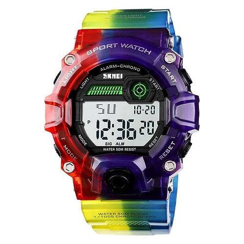 Skmei - Reloj 1197GNBU Digital para Mujer