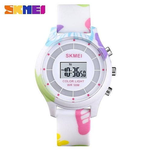 Skmei - Reloj 1596CMBFL Digital para Niña