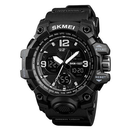 Skmei - Reloj 1327BK Análogo-Digital para Hombre