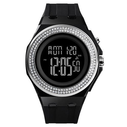 Skmei - Reloj 1598SIBK Digital para Mujer