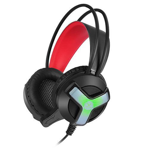 Wesdar - Auriculares W-GH31 para Juegos con LED