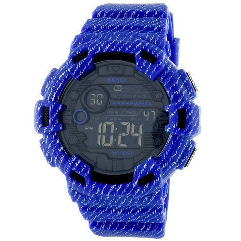 Skmei - Reloj 1472DKBU Digital para unisex