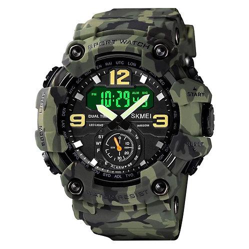 Skmei - Reloj 1637CMGN Análogo/Digital para hombre