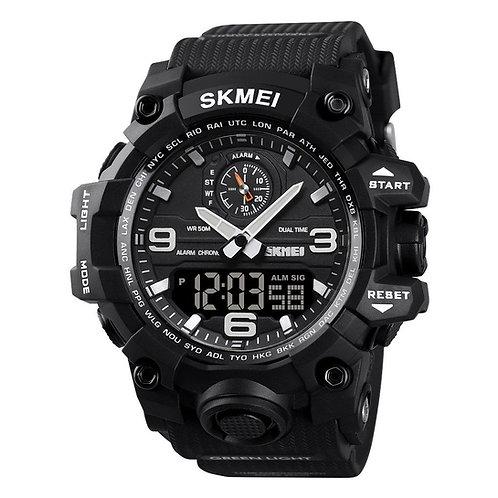 Skmei - Reloj 1586BK Análogo-Digital para Hombre