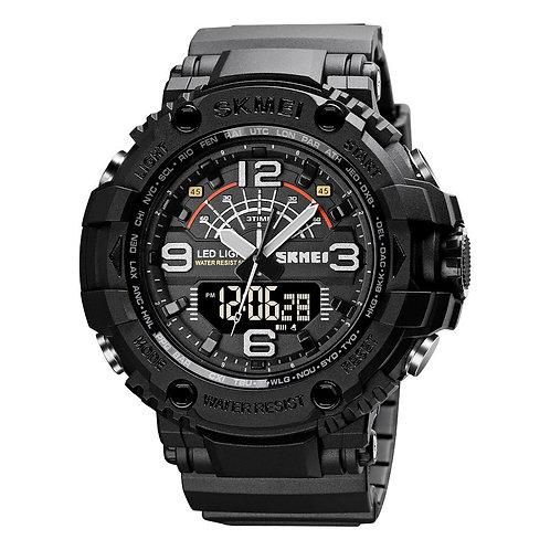 Skmei - Reloj 1617BK Análogo-Digital para Hombre