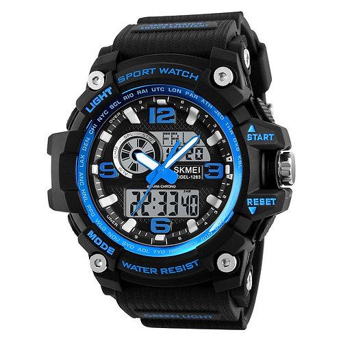 Skmei - Reloj 1283BU Análogo-Digital para Hombre