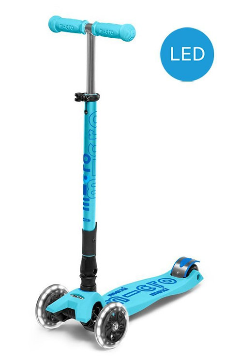 Micro - Scooter Maxi Deluxe Foldable LED MMD092