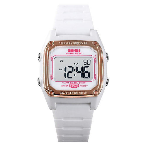 Skmei - Reloj 1614WT Digital para Mujer