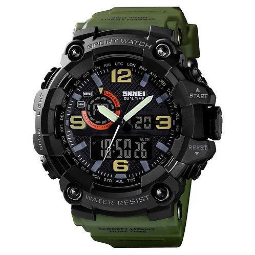 Skmei - Reloj 1520AG Análogo-Digital para Hombre