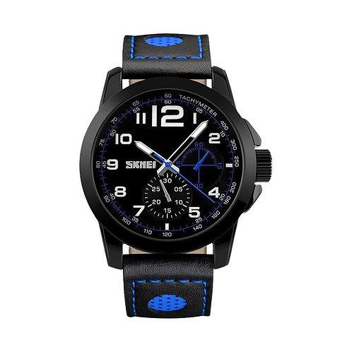 Skmei - Reloj 9111BU Análogo para hombre