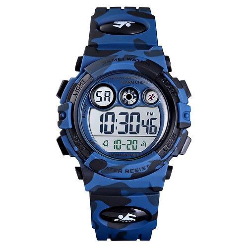 Skmei - Reloj 1547CMDKBU Digital para Niño