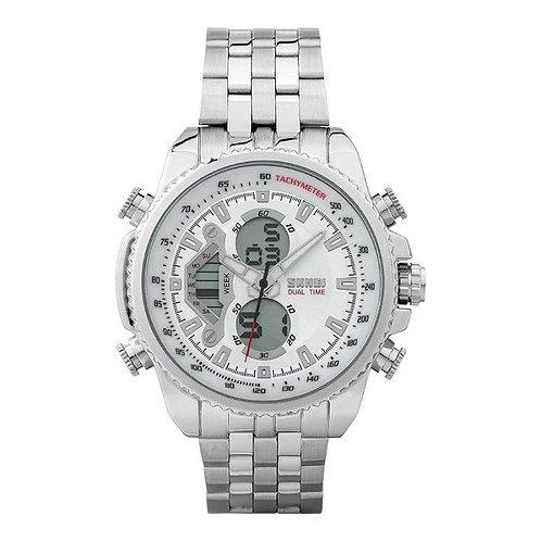 Skmei - Reloj 0993SI Análogo/Digital para Hombre