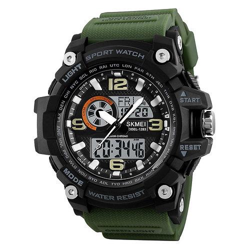 Skmei - Reloj 1283AG Análogo-Digital para Hombre