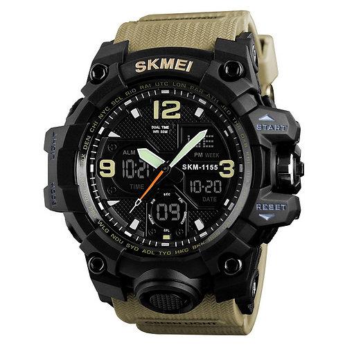 Skmei - Reloj 1155BKH Análogo-Digital para Hombre