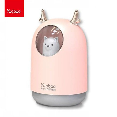 Yoobao - Humidificador 300ml Rosa