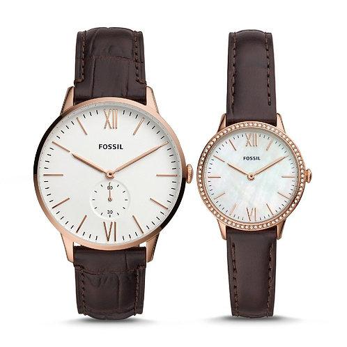 Fossil - Reloj FS5564SET Análogo para Hombre
