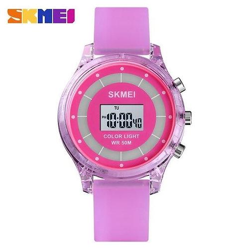 Skmei - Reloj 1596PL Digital para Niña