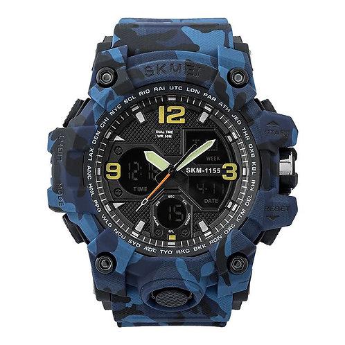 Skmei - Reloj 1155BCMBU Digital para Hombre